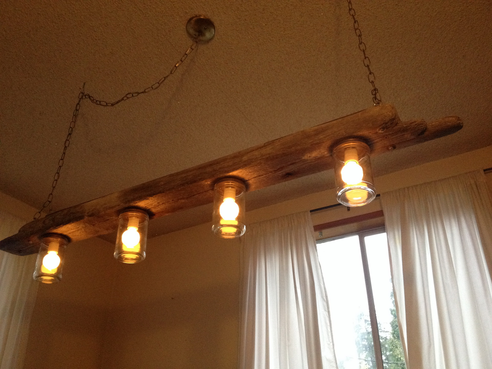 Wooden ceiling lights for excellent lighting and interior for Ceiling lamp wood