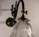 Wrought iron wall lights Photo - 1