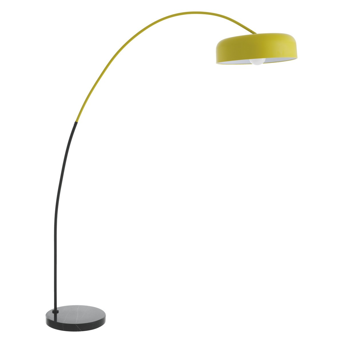 Yellow floor lamp - Antique Yellow Floor Lamps And Things To Consider Before Buying