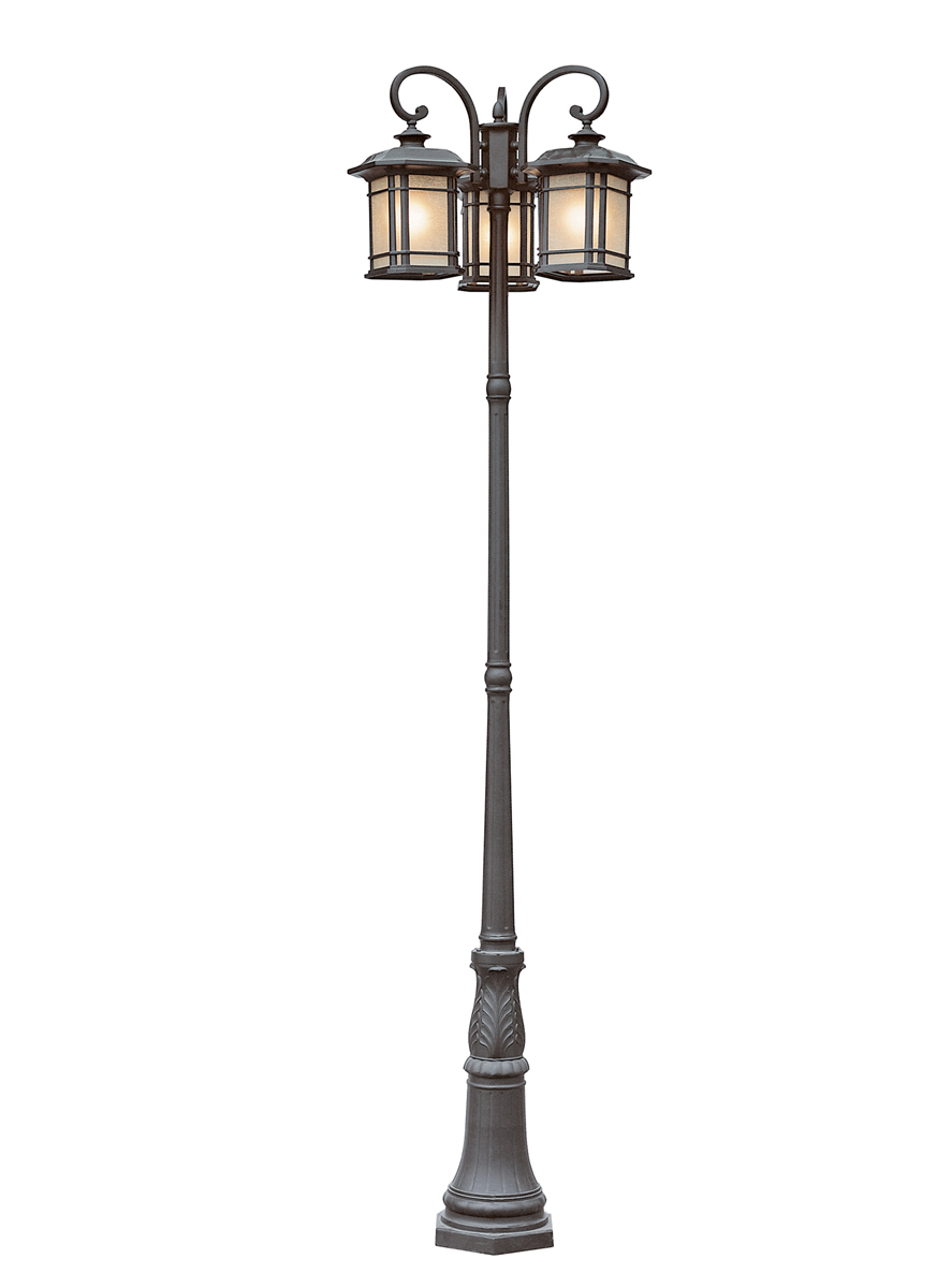 lamp post lights make your restaurant attractive with 3 lamp post light 28778
