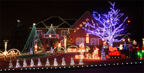 christmas light outdoor ideas photo 13 - Christmas Lights Outdoor Ideas