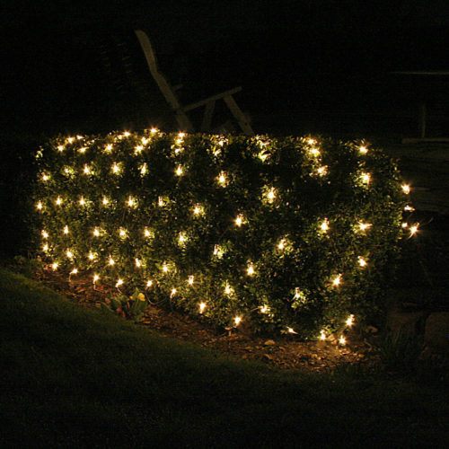 Christmas Outdoor Net Lights Make Your Evenings Fun