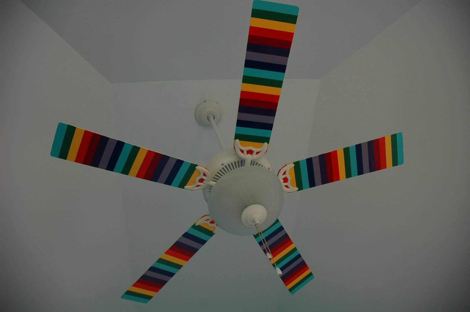 Kids Rainbow Ceiling Fan Insteon Fan Control