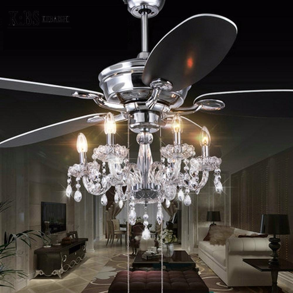 Chandelier Fan: How To Purchase Crystal Chandelier Ceiling Fans