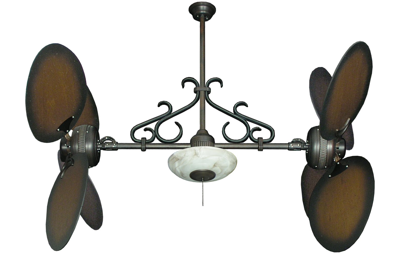 Image of: Double Oscillating Ceiling Fan 10 Advices By Choosing Warisan Lighting