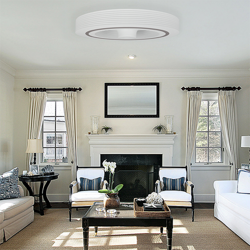 22 Cool Living Room Lighting Ideas And Ceiling Lights: Dyson Bladeless Ceiling Fan