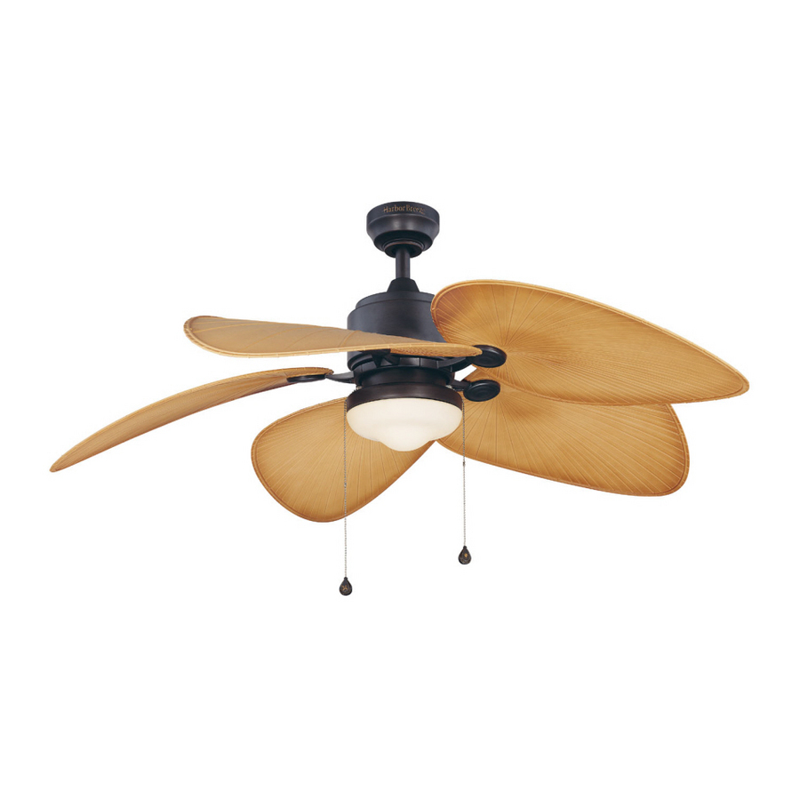 Harbor Breeze Double Ceiling Fan 13 Efficiencies In