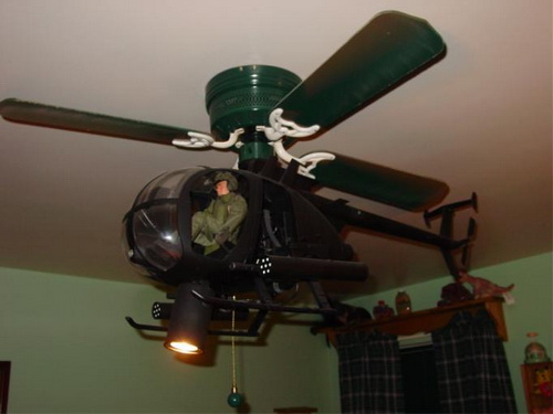 22 Wonderful Helicopter Ceiling Fans