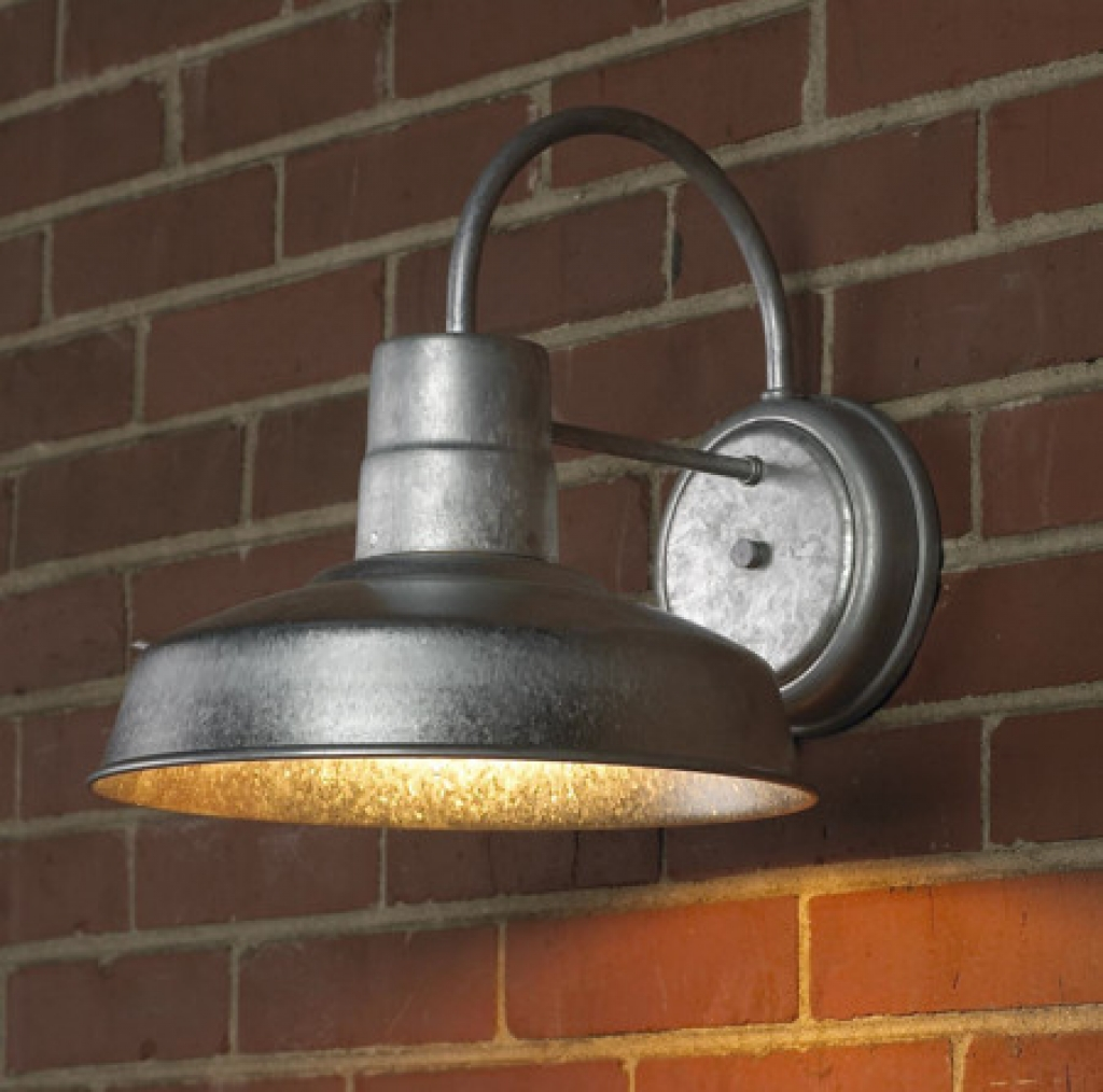 10 tips and tricks for beautiful industrial outdoor lights for Outside lawn lights