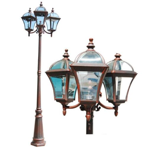 Innova Lighting Led 3 Light Outdoor Lamp Post Beauty And