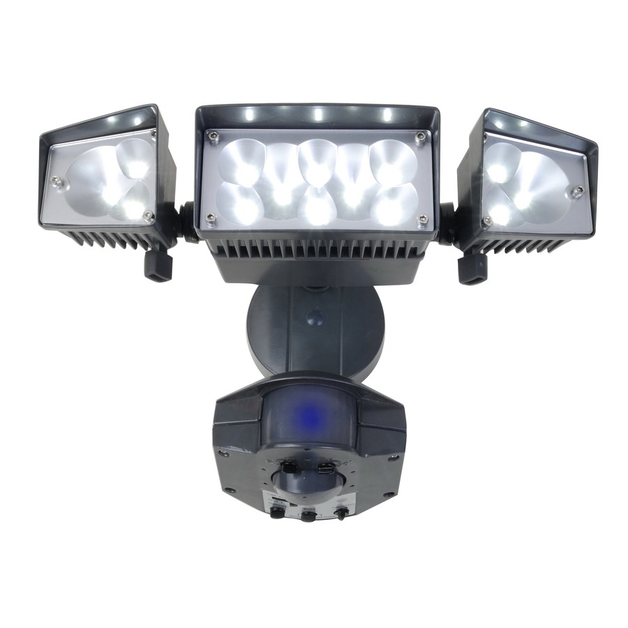 Led outdoor security lights for your premises aesthetic appeal review install outdoor defiant led motion security light mozeypictures Images