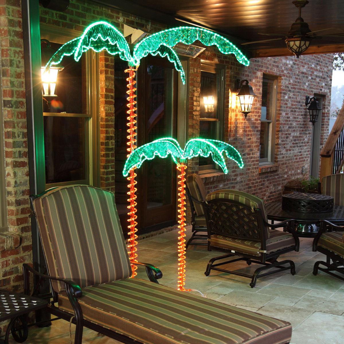 Benefits Palm Tree Outdoor Lights