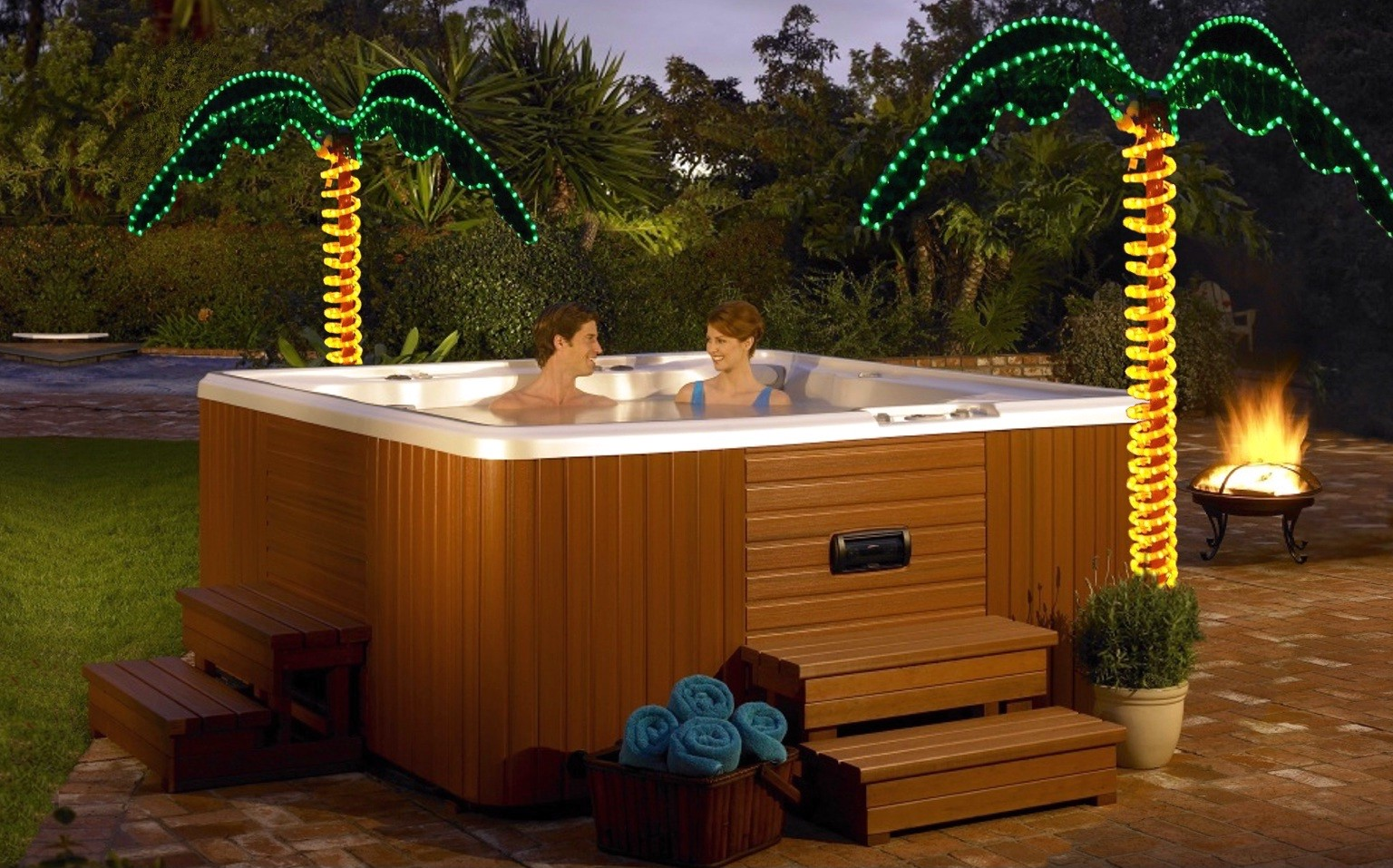 Small Jacuzzi Outdoor Patio