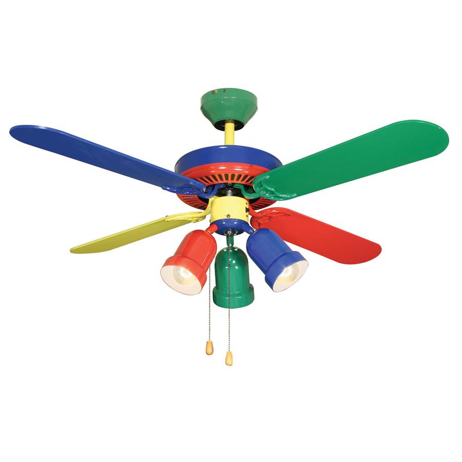 Rainbow Ceiling Fan : Rainbow ceiling fan ways to give your little
