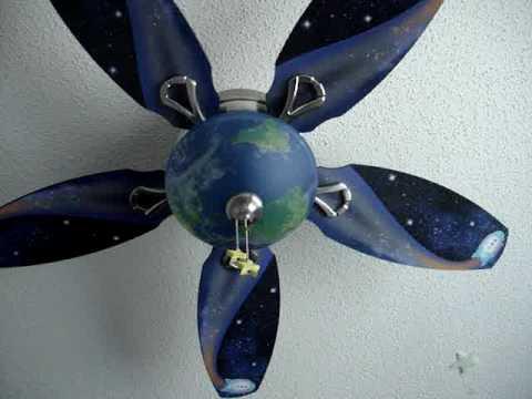 Rocket Ship Ceiling Fan Enlighten The Ambience Of Your