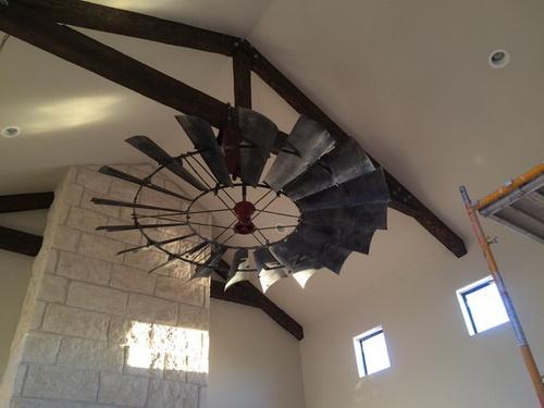 Windmill Ceiling Fan With Light Kit