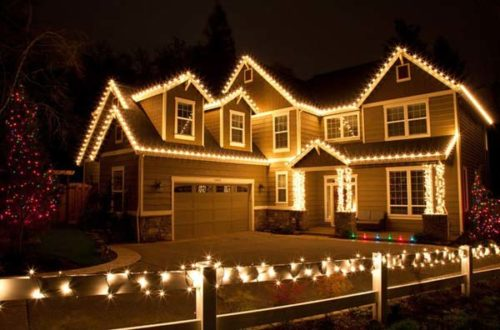 Xmas outdoor lights 11 exciting looks focusing up your house xmas outdoor lights photo 8 aloadofball Image collections