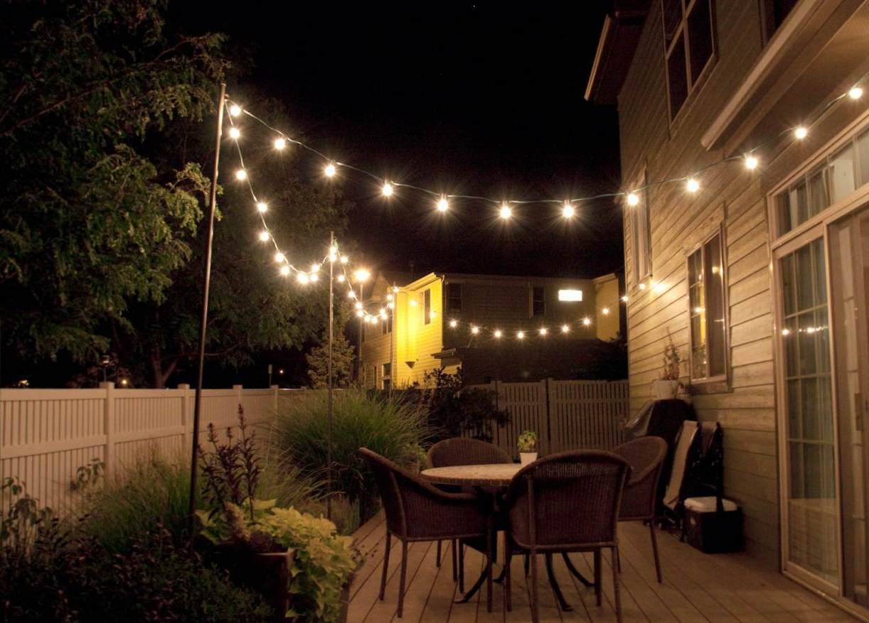 Small Back Patio Lighting Ideas Tosmun