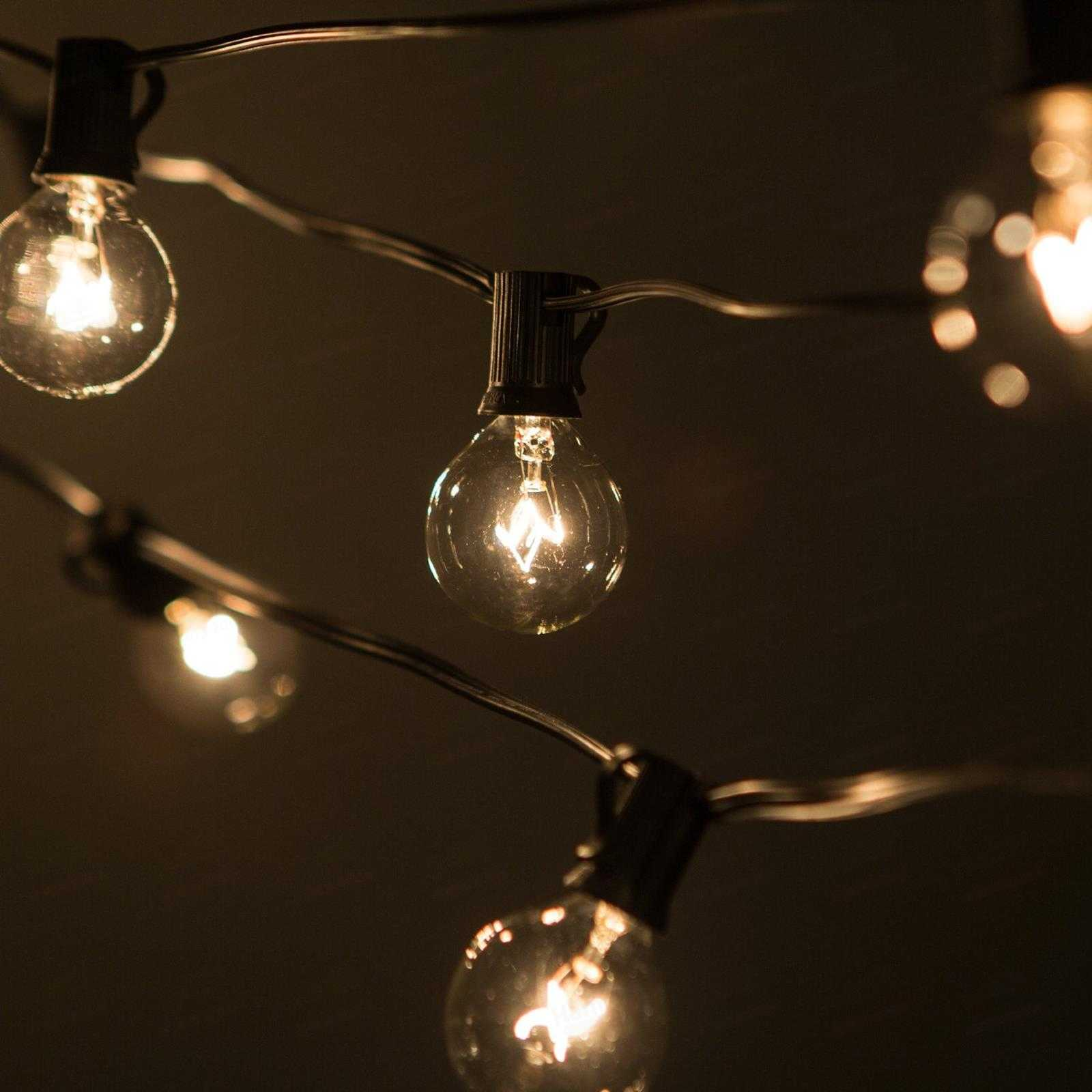 10 benefits of Big bulb outdoor string lights