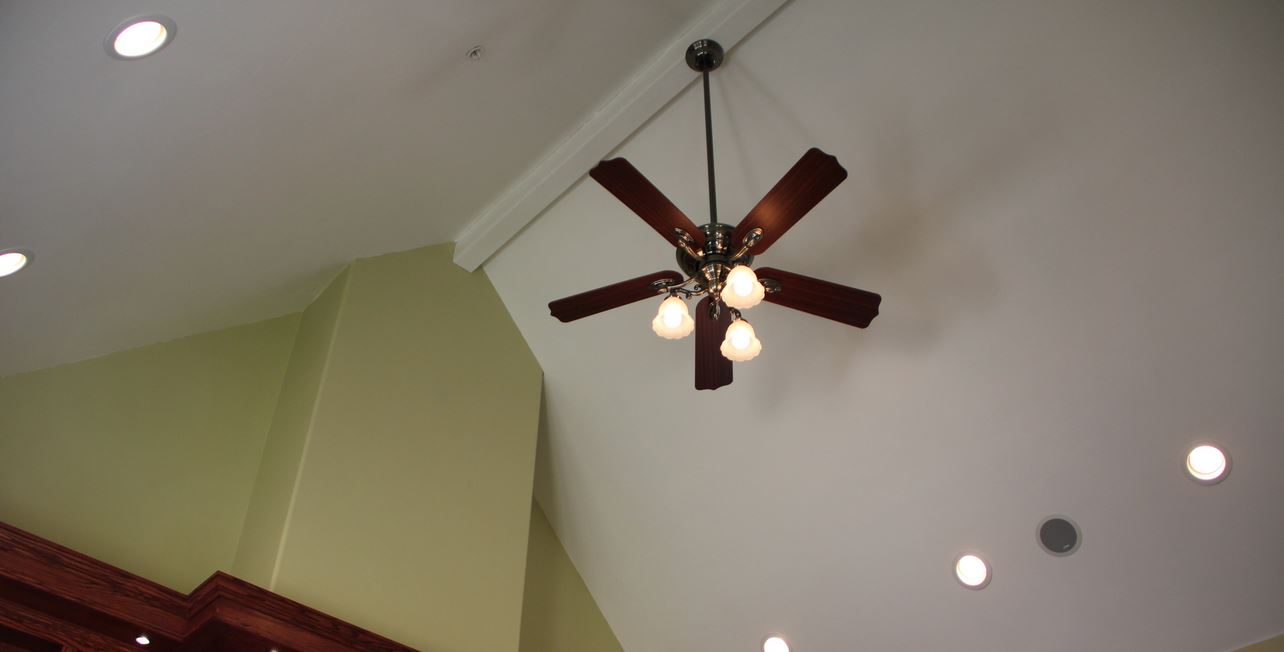 10 benefits of cathedral ceiling fans warisan lighting lowering energy costs cathedral ceiling fans aloadofball