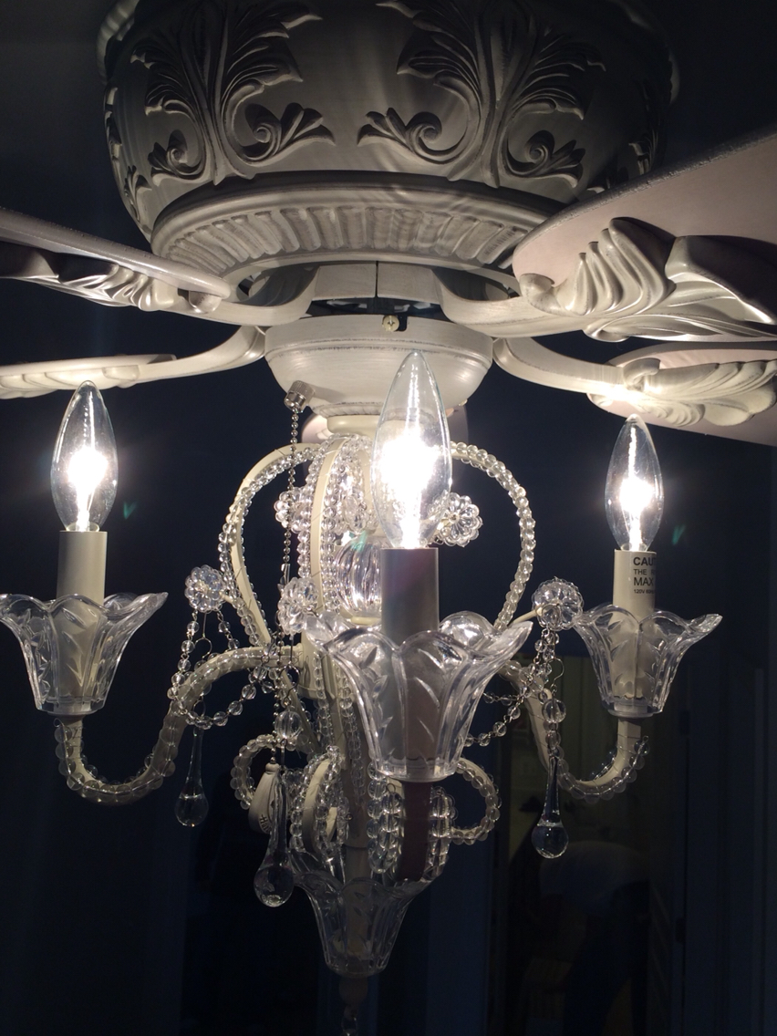 Ceiling fan crystal chandelier - best way to make your ...