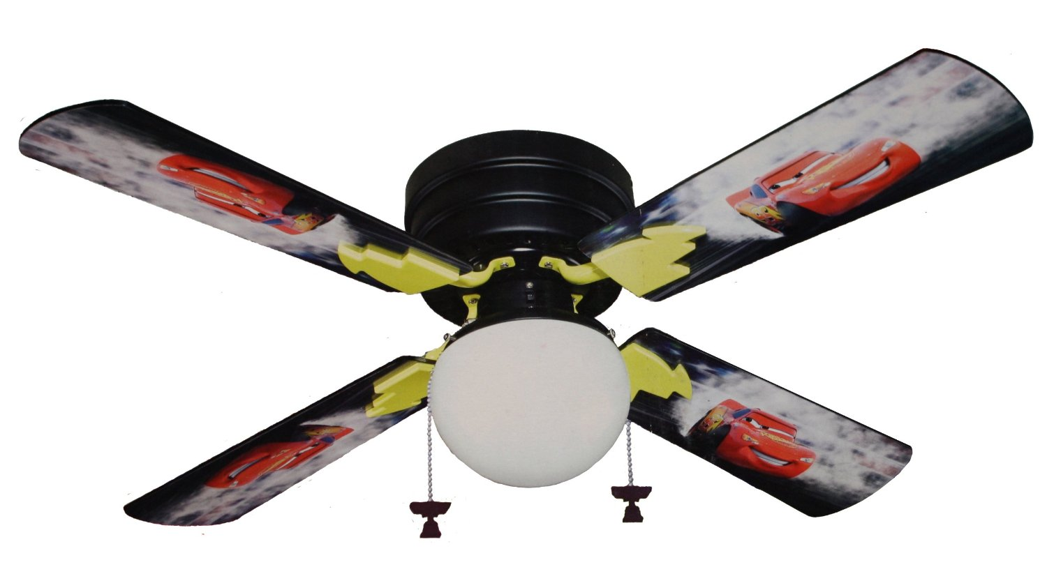 4 Cartoon Inspired Ceiling Fan
