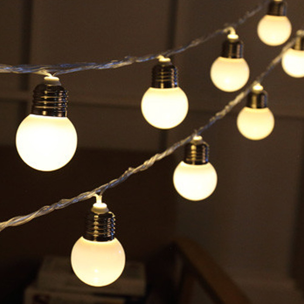 Christmas globe lights outdoor - Significant Decorative Items ...