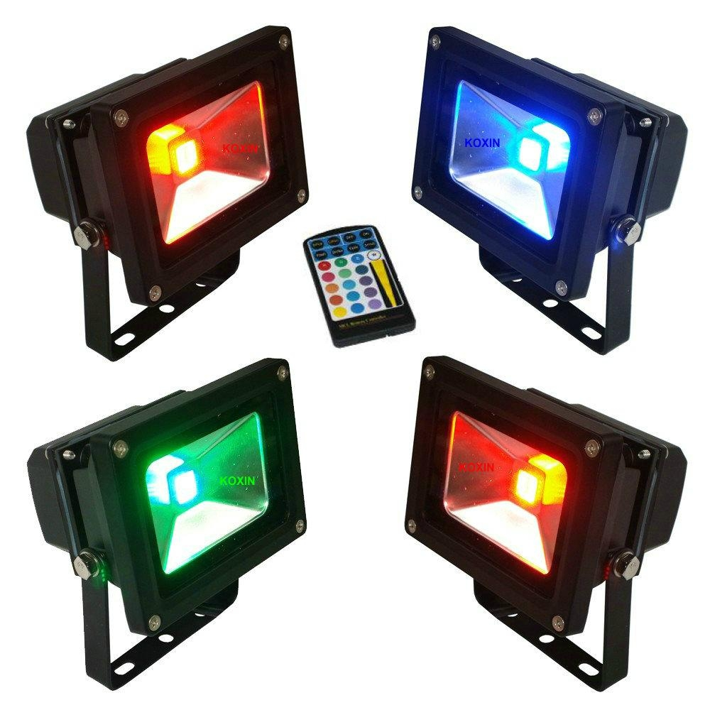 10 facts to know about colored outdoor flood lights for Outdoor lighting spotlights