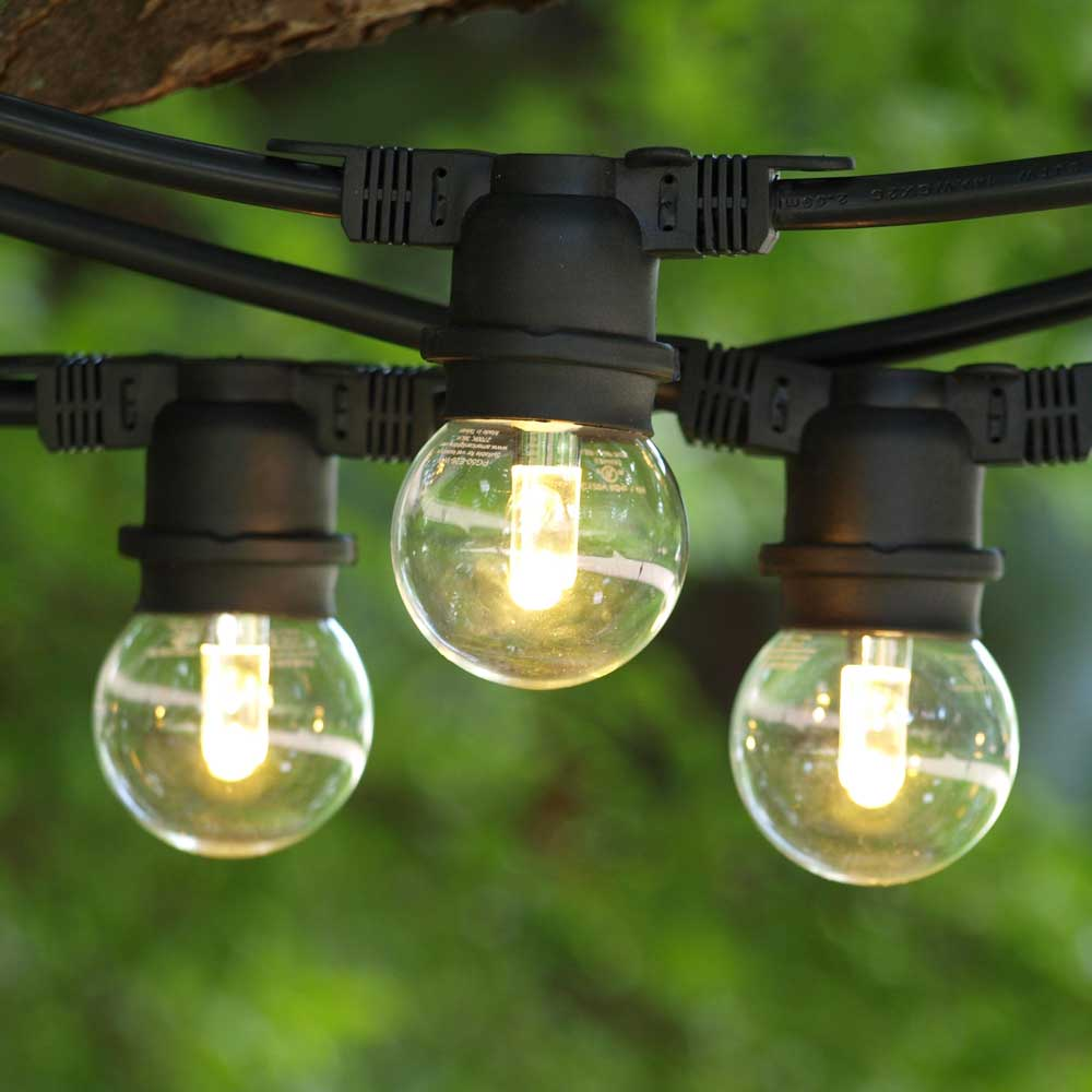 Why commercial outdoor globe string lights are still great Outdoor string lighting