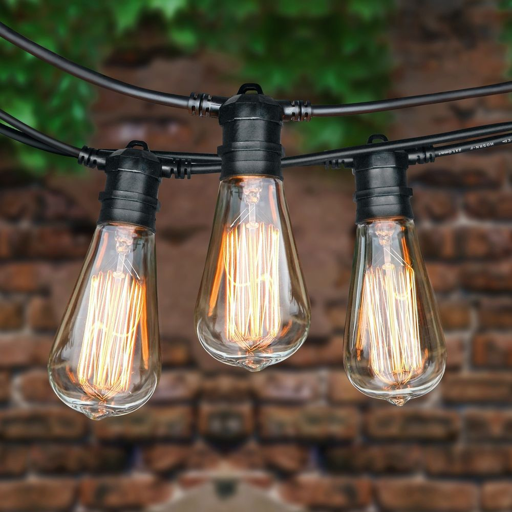 10 Commercial Outdoor Patio String Lights Ideas To Light Your Outdoor Settings Warisan Lighting