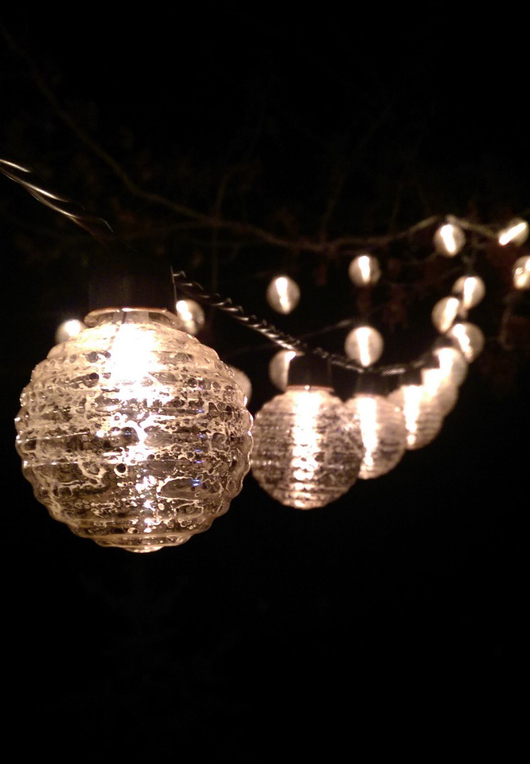 Outdoor String Lights Electric : Decorative string lights outdoor - 25 tips by Making Your Home Special Warisan Lighting