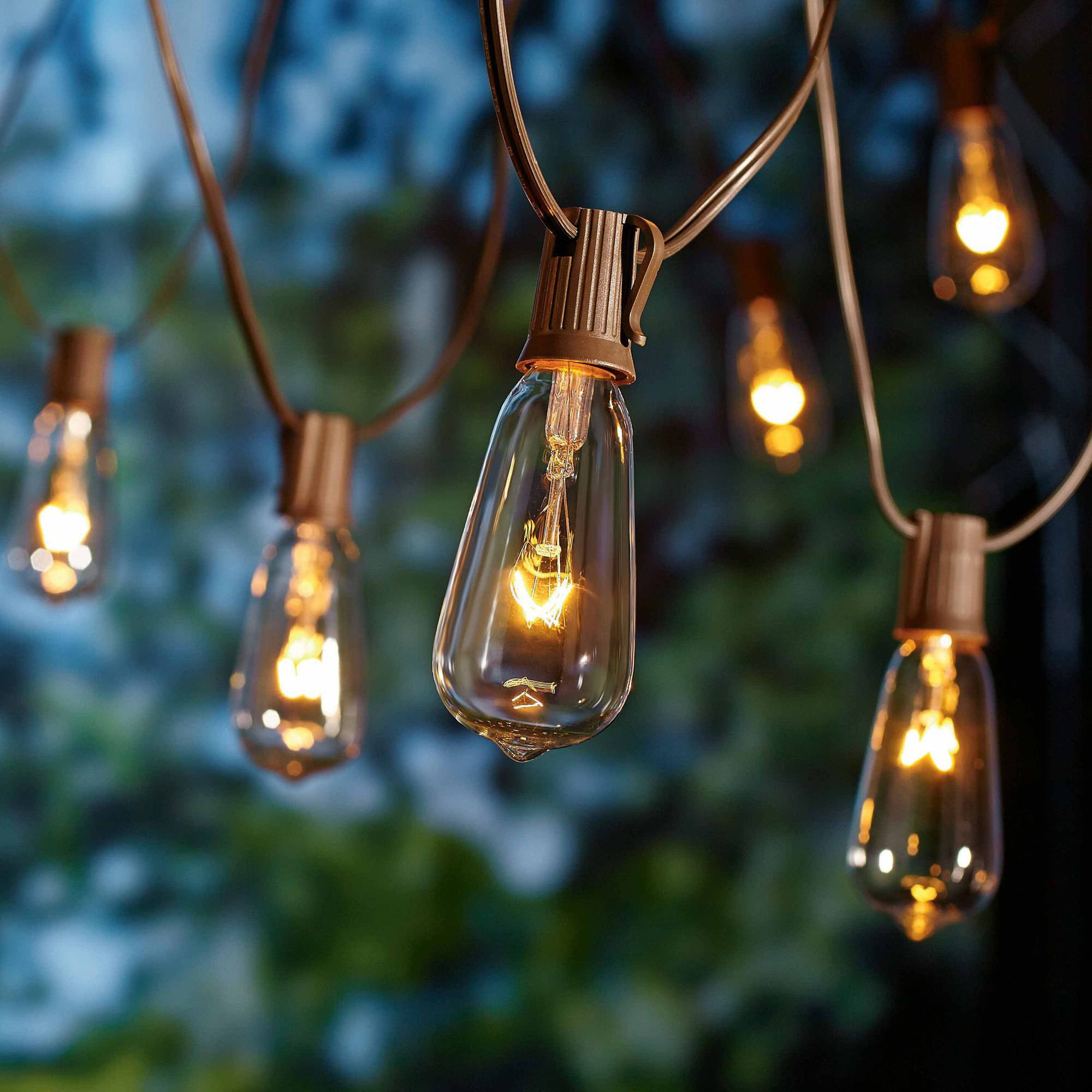 Outdoor String Lights Large Bulbs : Decorative string lights outdoor - 25 tips by Making Your Home Special Warisan Lighting