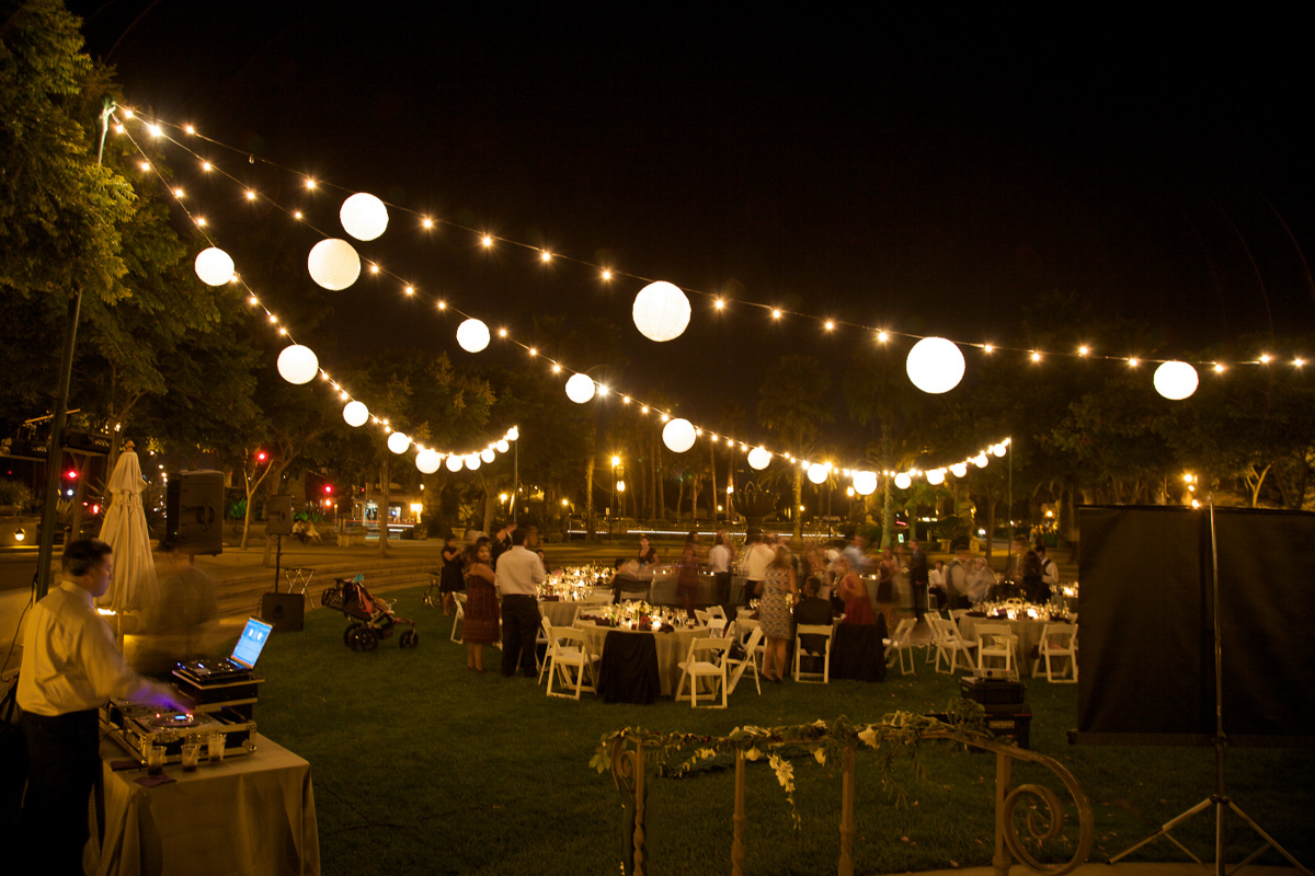 Decorative string lights outdoor - 25 tips by Making Your ... on String Lights Backyard Ideas id=29370