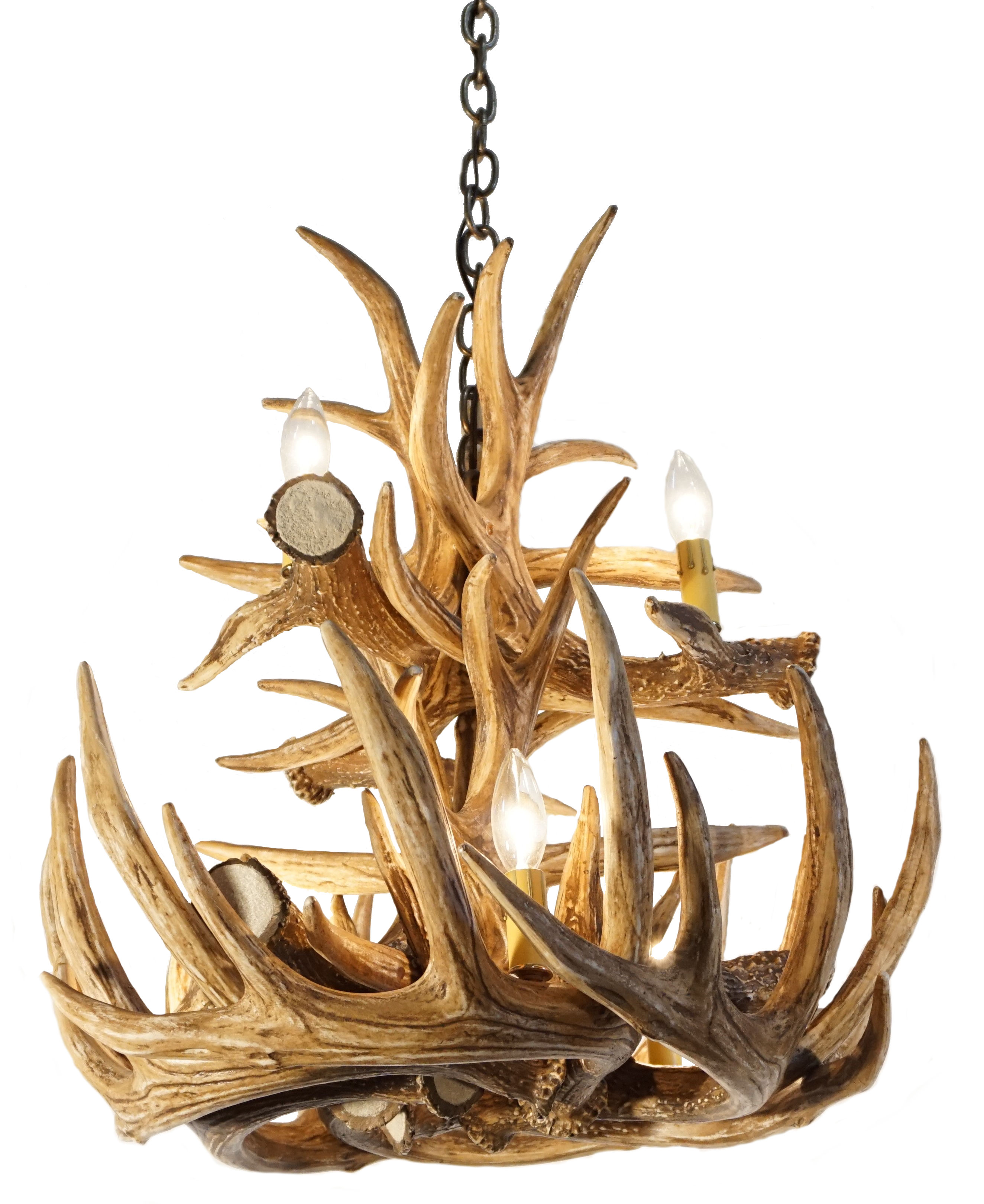 Deer antler ceiling fans best one for your home warisan lighting aloadofball Gallery