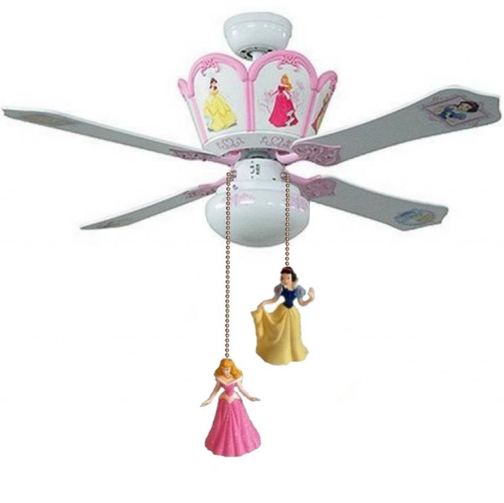 Disney princess ceiling fans they deliver quality and features aloadofball Image collections
