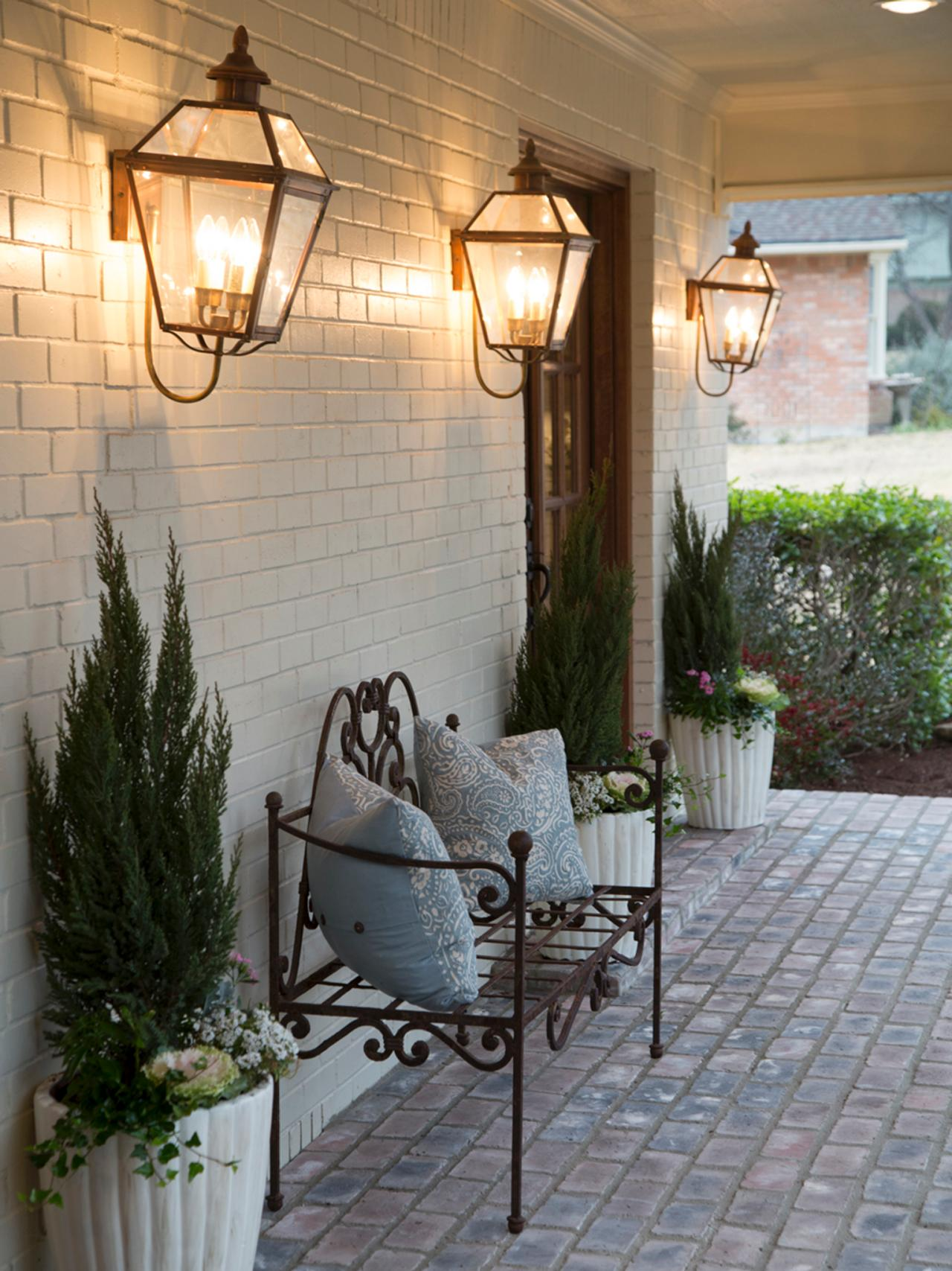 French Country Outdoor Lighting