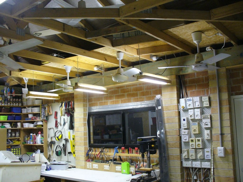 Garage Ceiling Fans Deciding The Right Size For Your