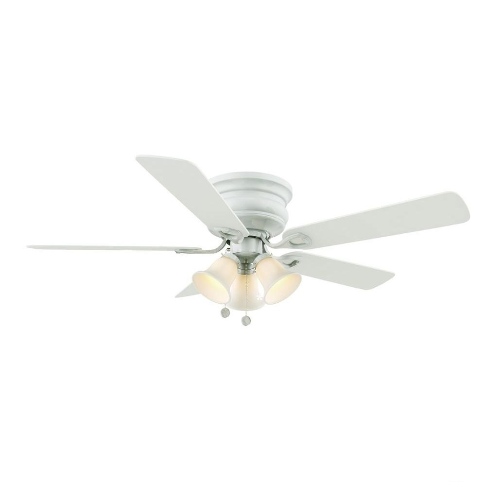 Hampton Bay White Ceiling Fan