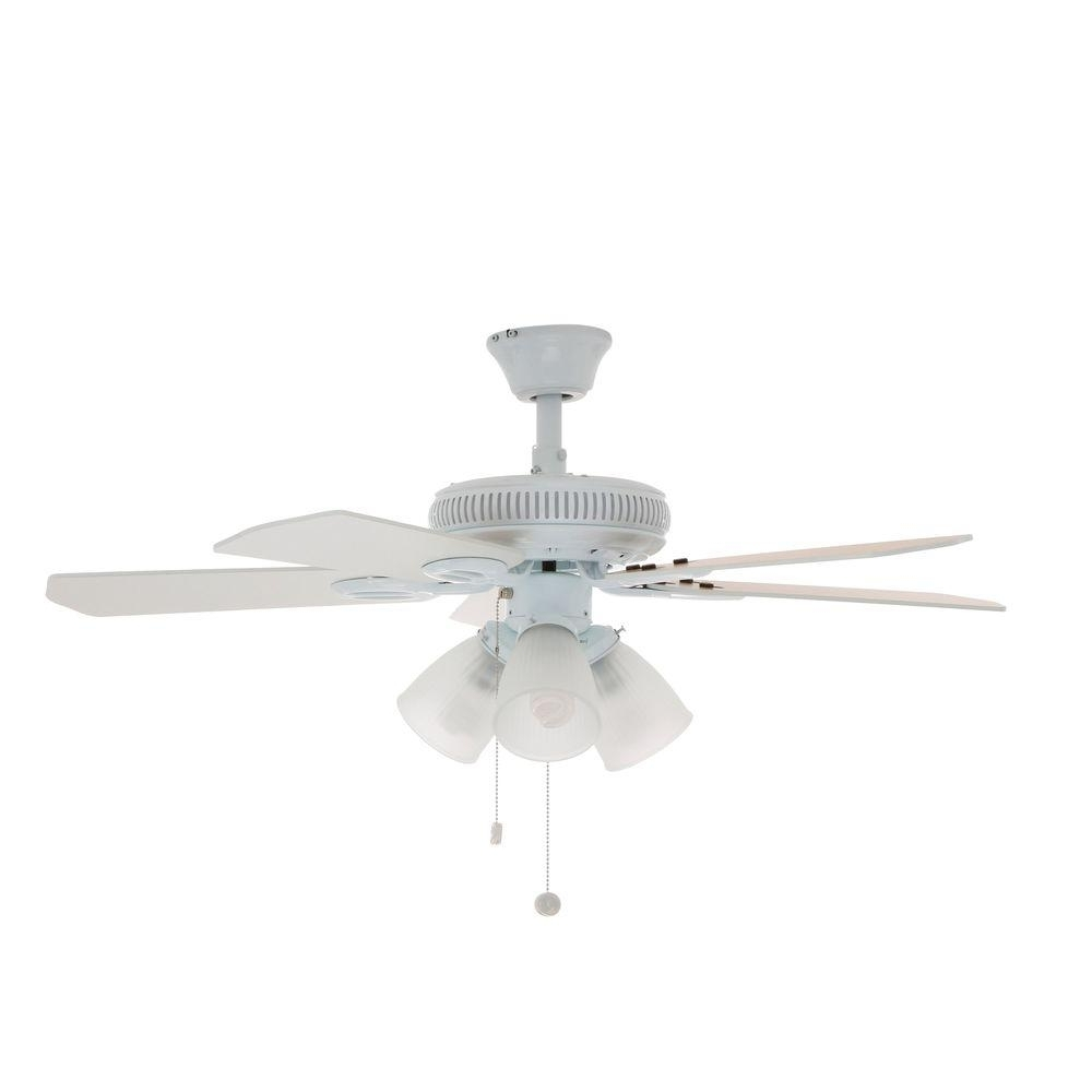 Parts To An Overhead Fan : Hampton bay white ceiling fan methods to make your