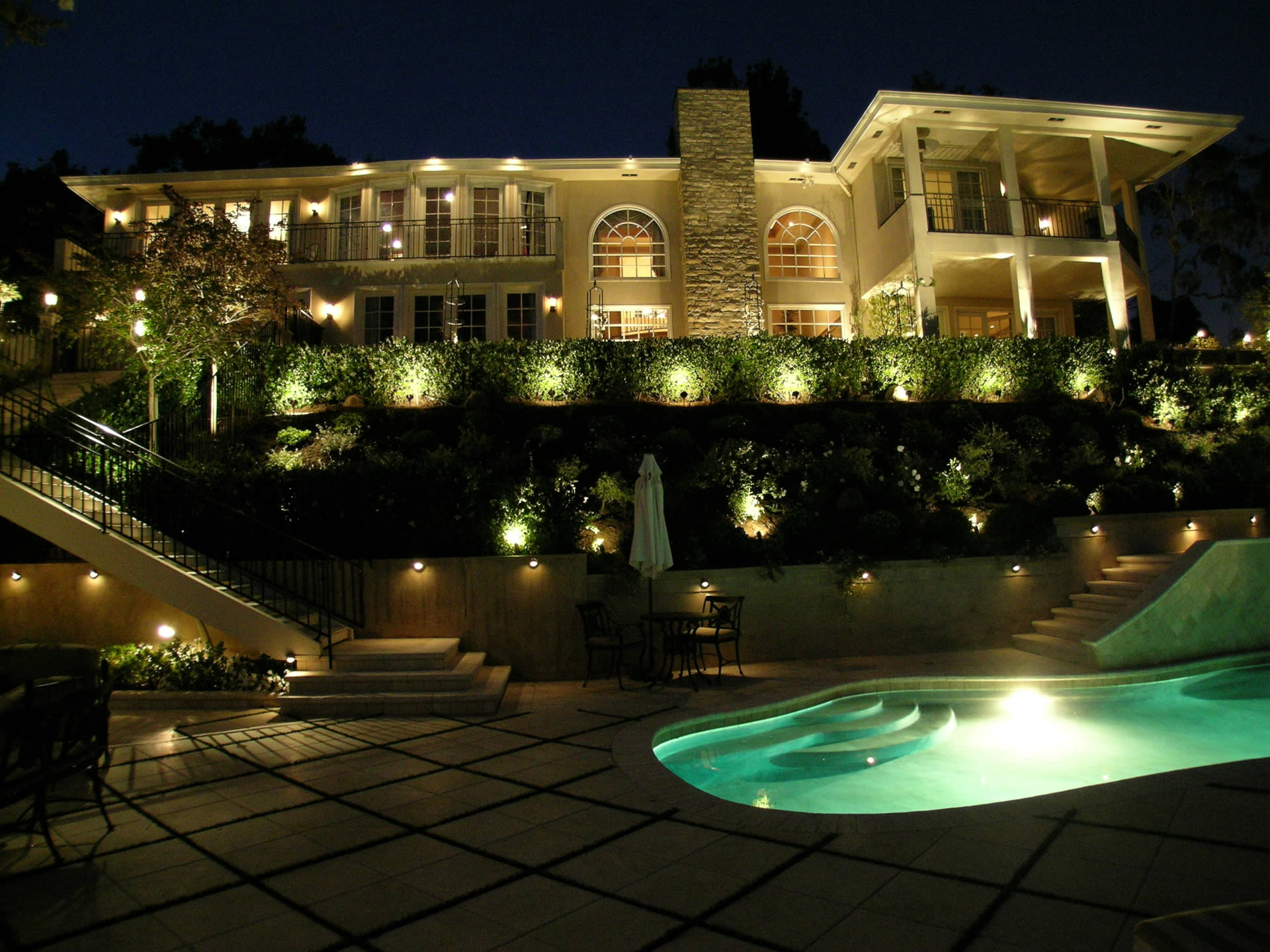 Arrange Your Fixtures To Best Achieve Purpose Outdoor Luxury Lighting