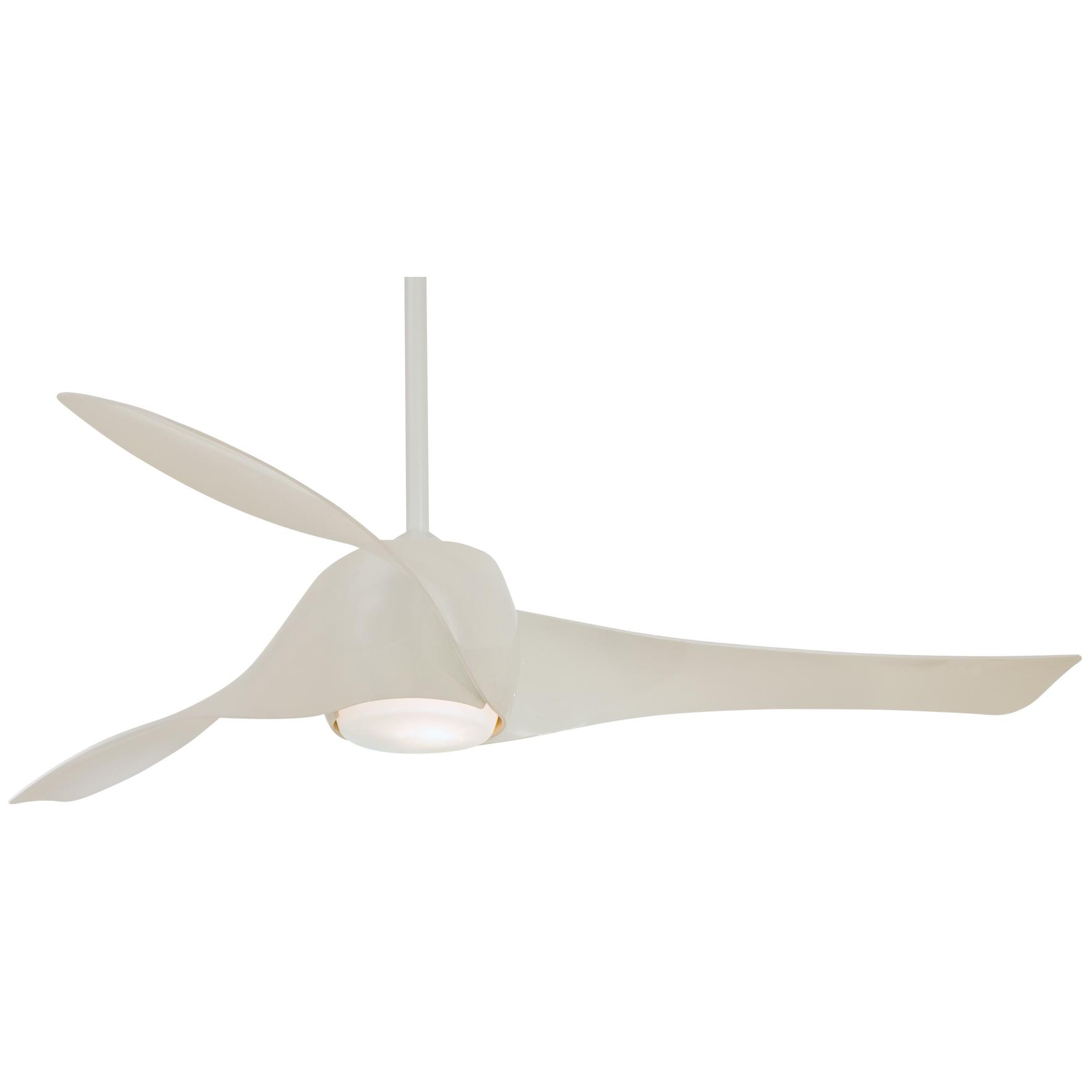 Modern contemporary ceiling fans providing modern design for White contemporary ceiling fans with lights