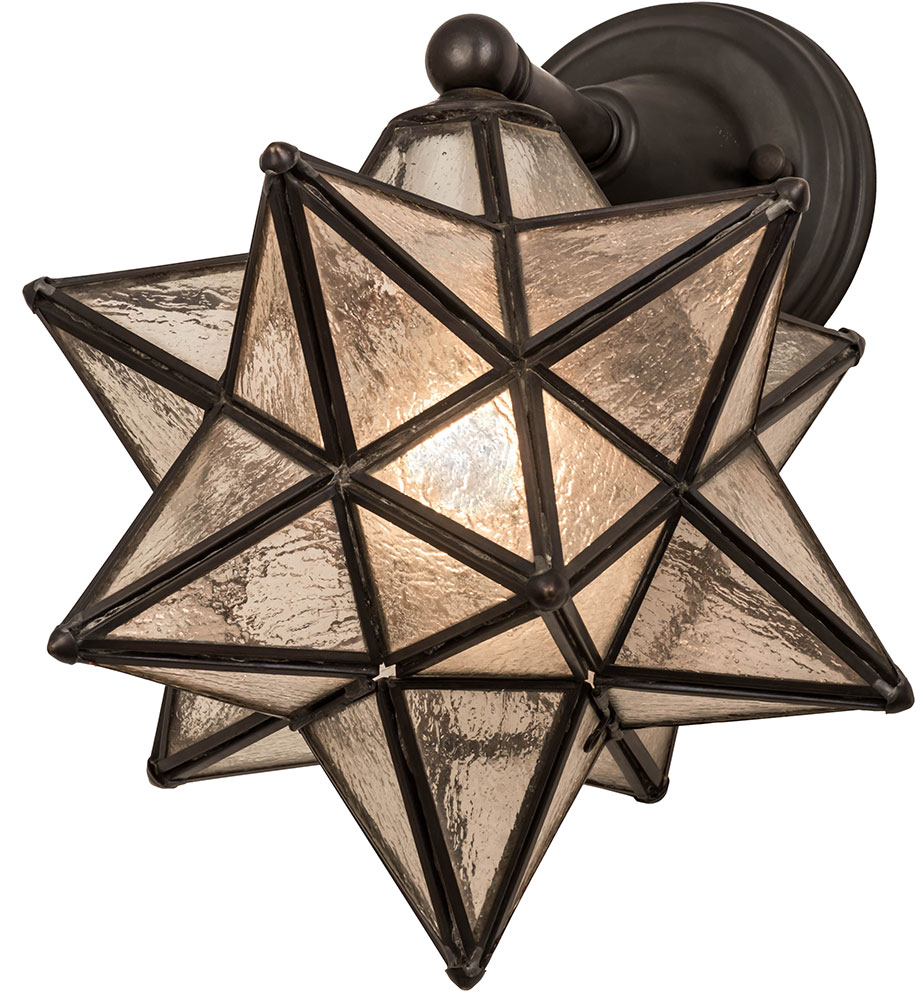 create a unique look with moravian star outdoor light