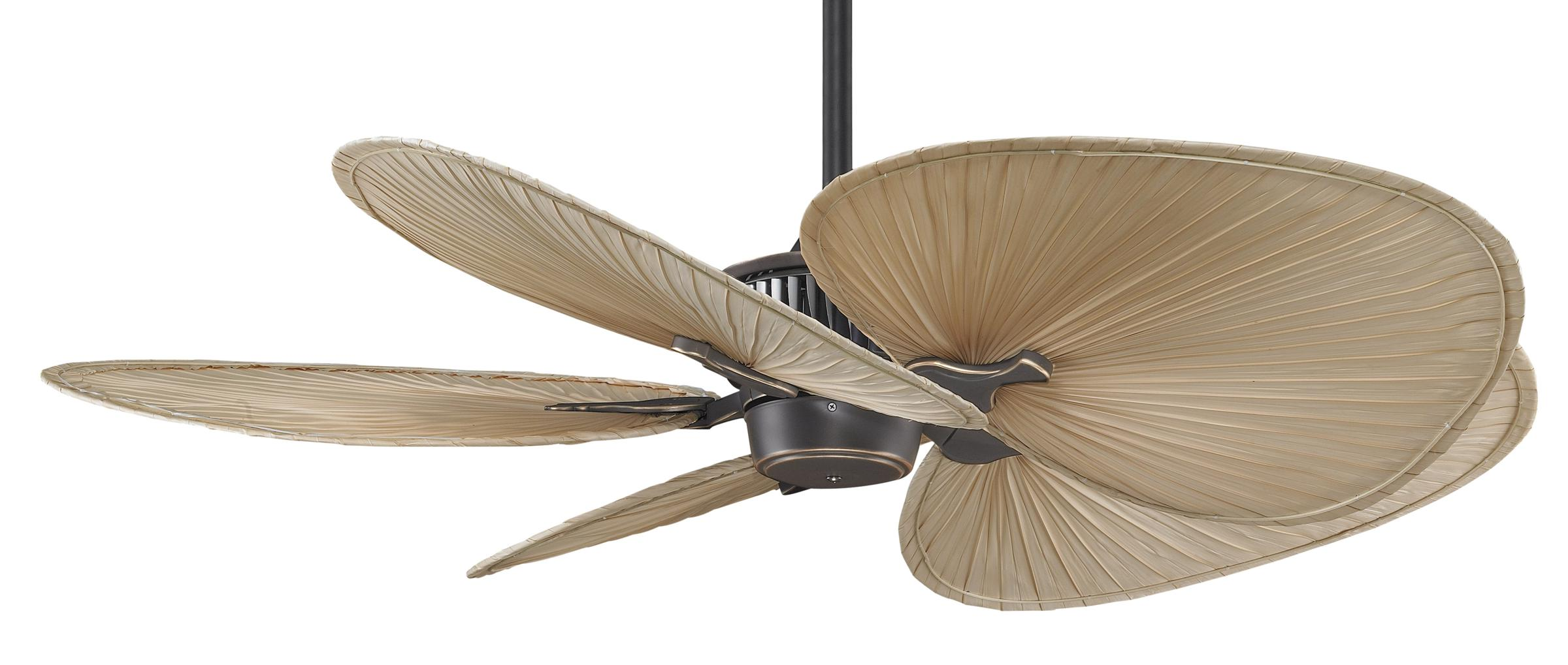 98 Ceiling Fans With Palm Blades