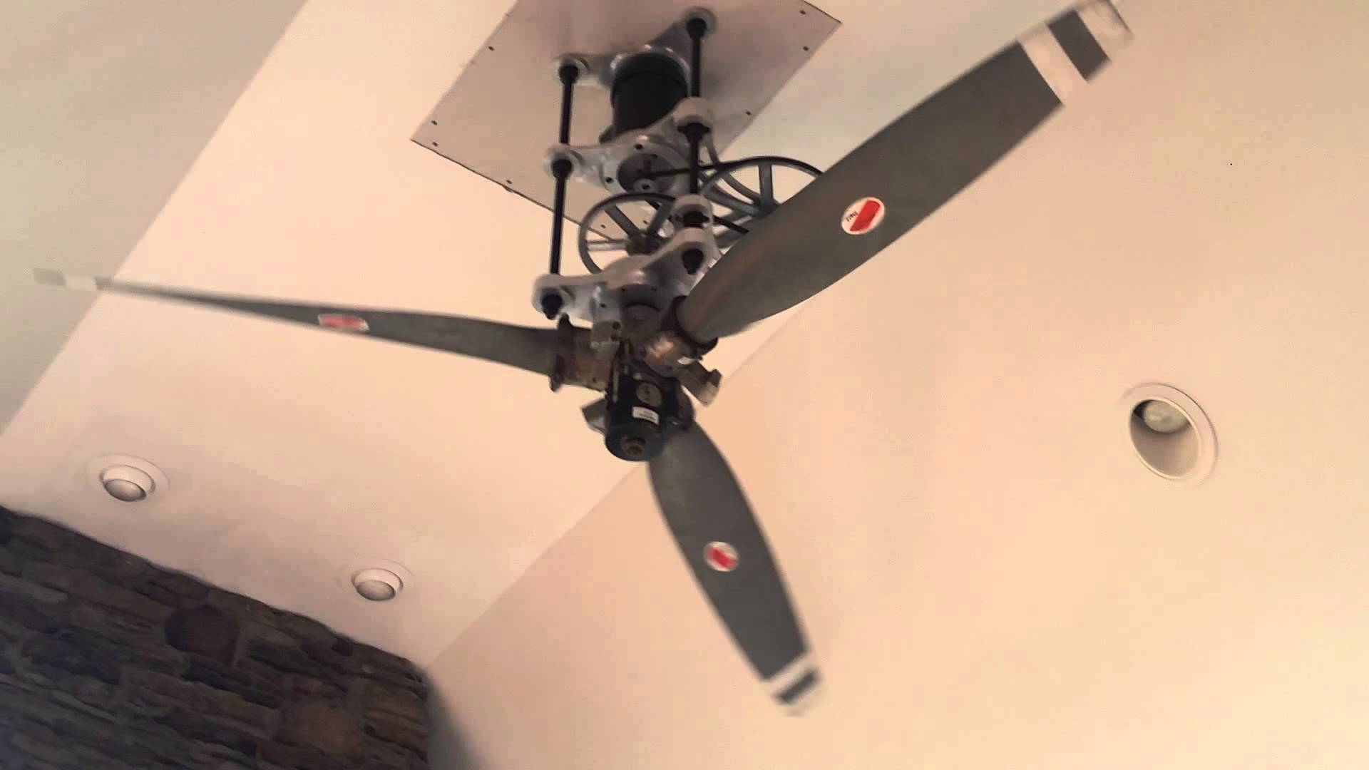 Prop ceiling fan provides a fashionable appearance to your house