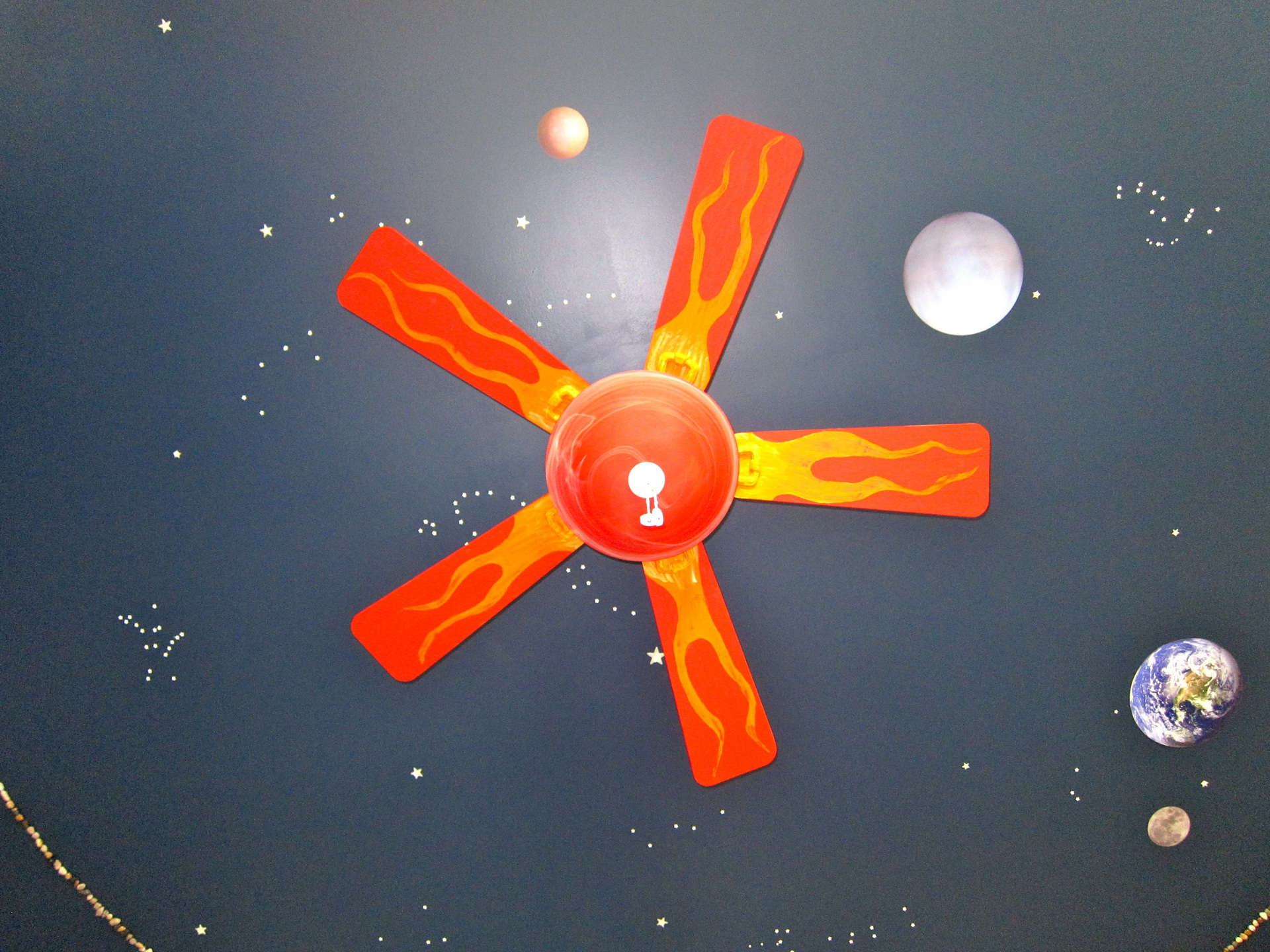 Rocket Ship Ceiling Fan Enlighten The Ambience Of Your