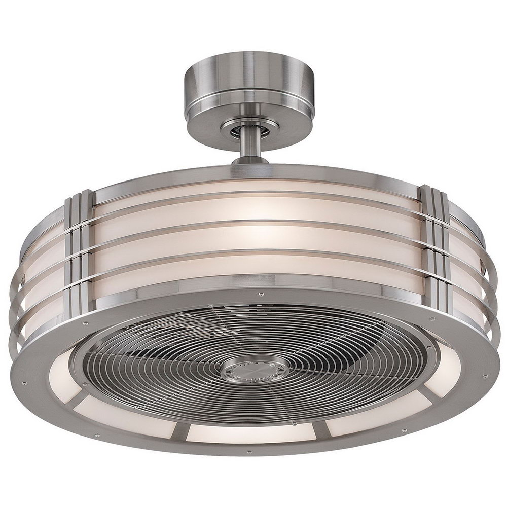 #1 Brushed Nickel Ceiling Kitchen Fan