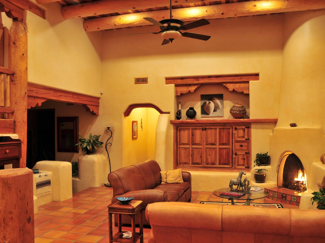 The Use And Work Of Southwestern Ceiling Fans Warisan Lighting