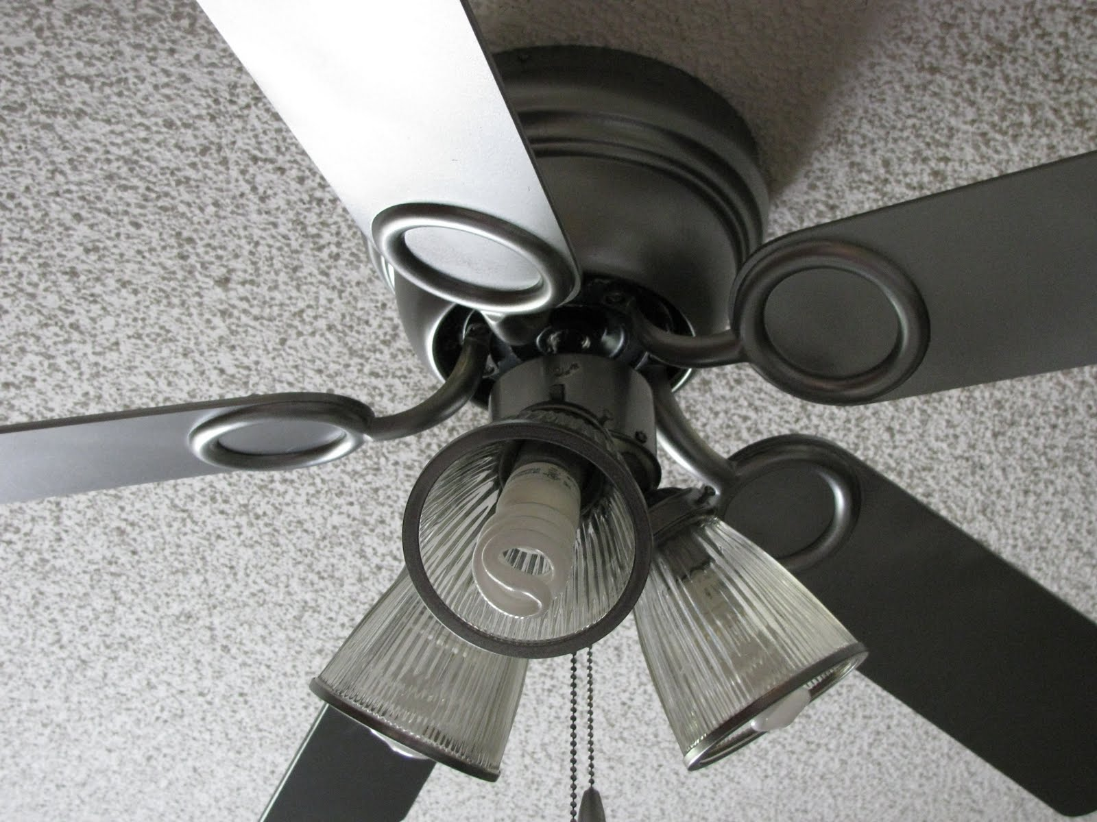 Paint Ceiling Fan : Spray paint ceiling fan matching your fans to
