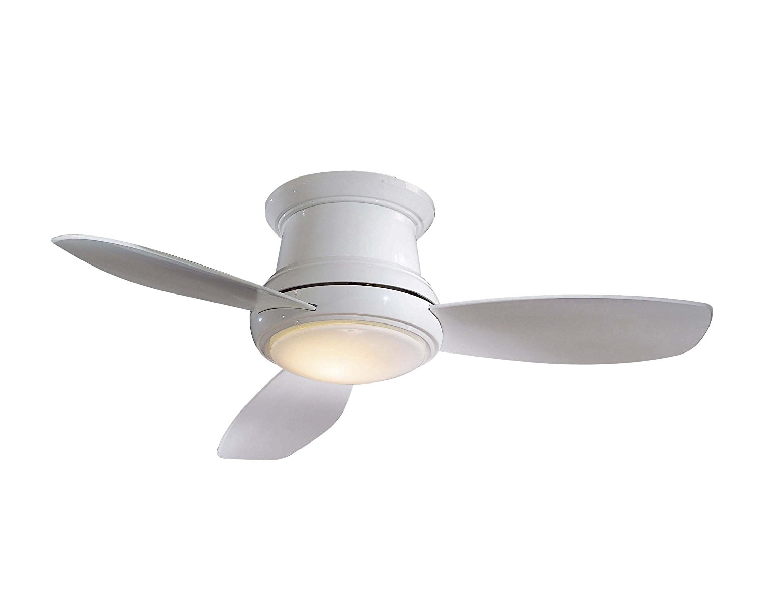 Ceiling Fan Mount : Surface mount ceiling fan top ideal for small spaces