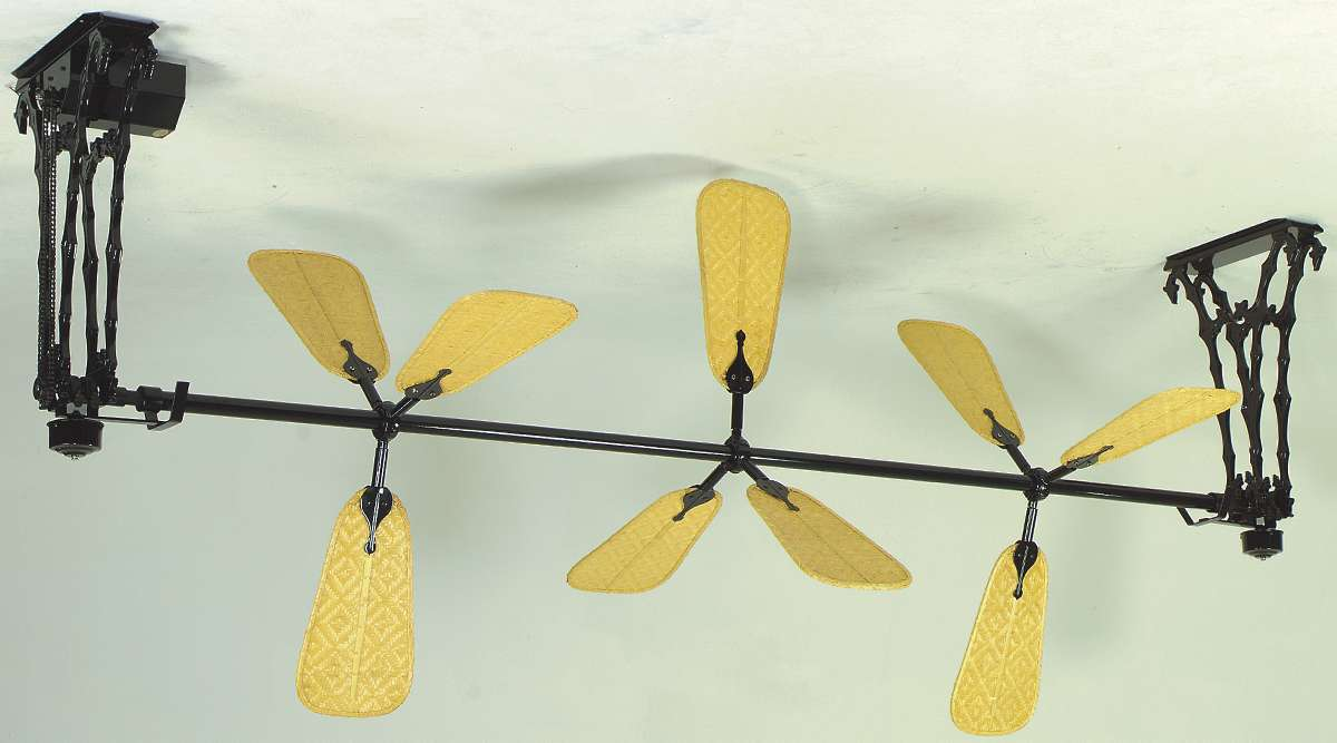 Yellow Ceiling Fan : Yellow ceiling fan for a sunny home decor warisan lighting